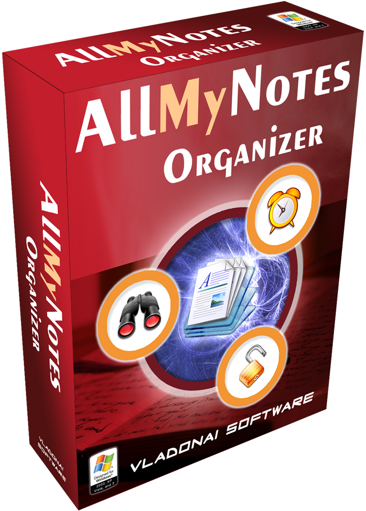 All-My-Notes Organizer box